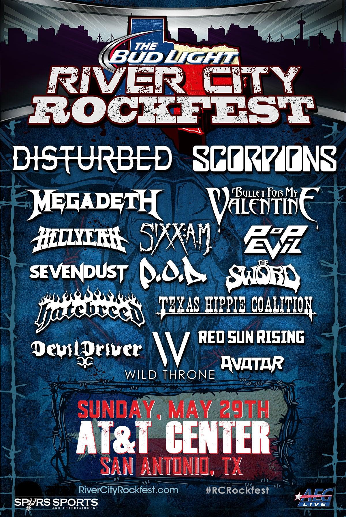 River City Rockfest Att Center